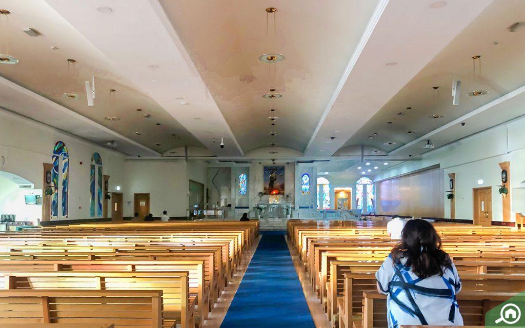 Jebel Ali Church Altar