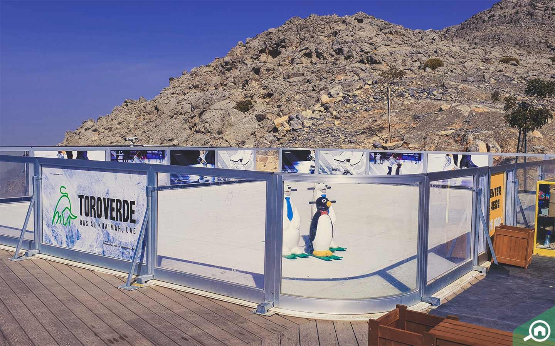 Ice Rink on Jebel Jais Mountain