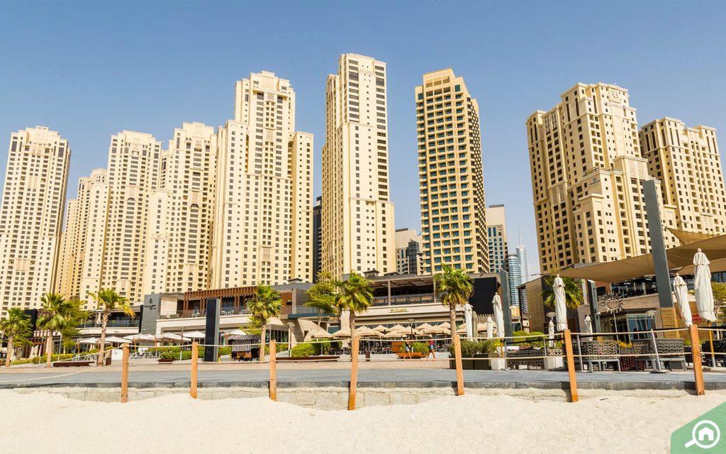 Jumeirah Beach Residence apartments