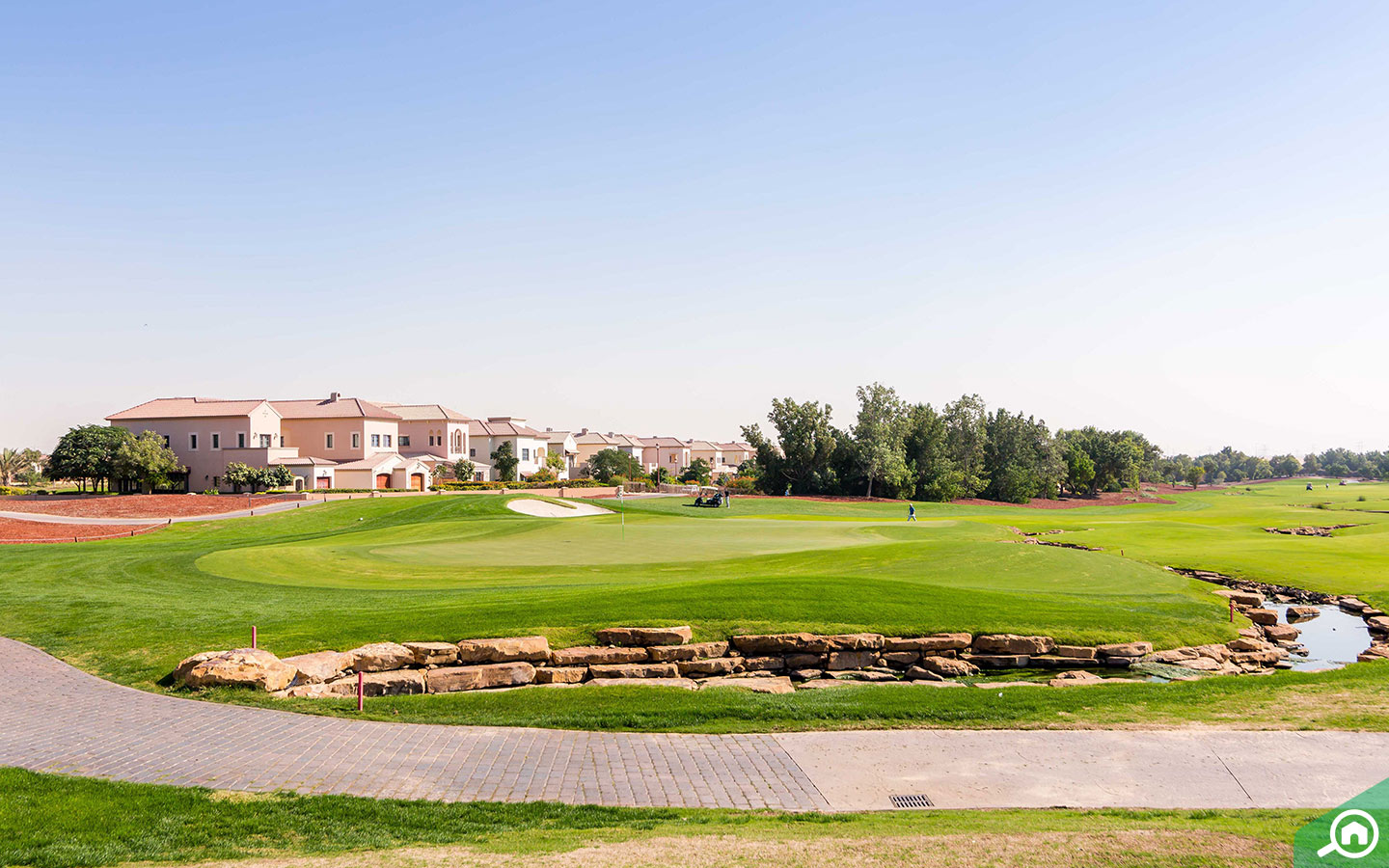 Jumeirah Golf Estate is considered one of the top golf courses in Dubai