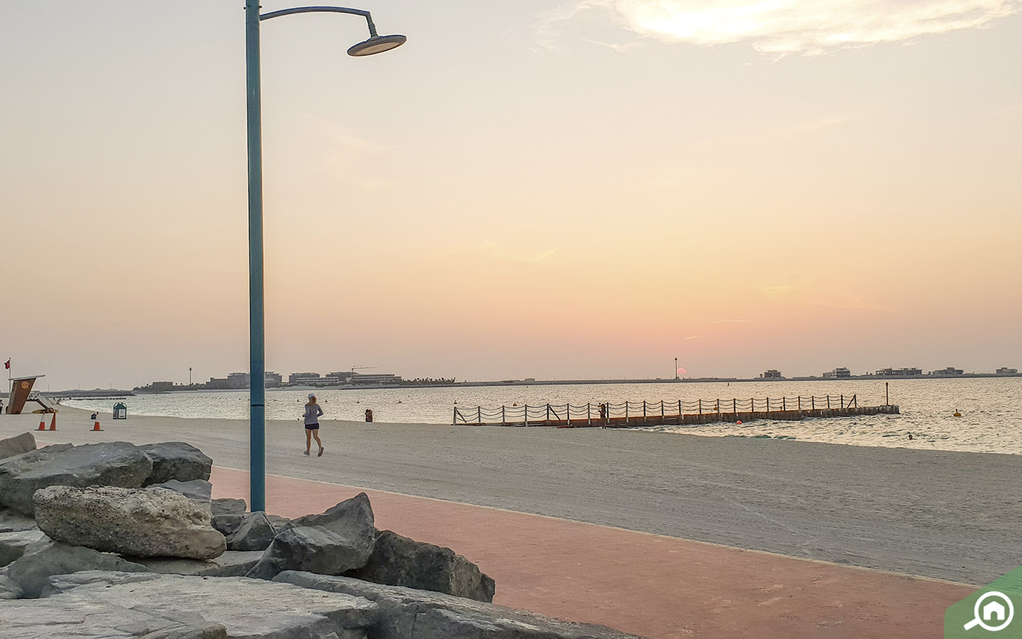 Jumeirah Beach cycling path