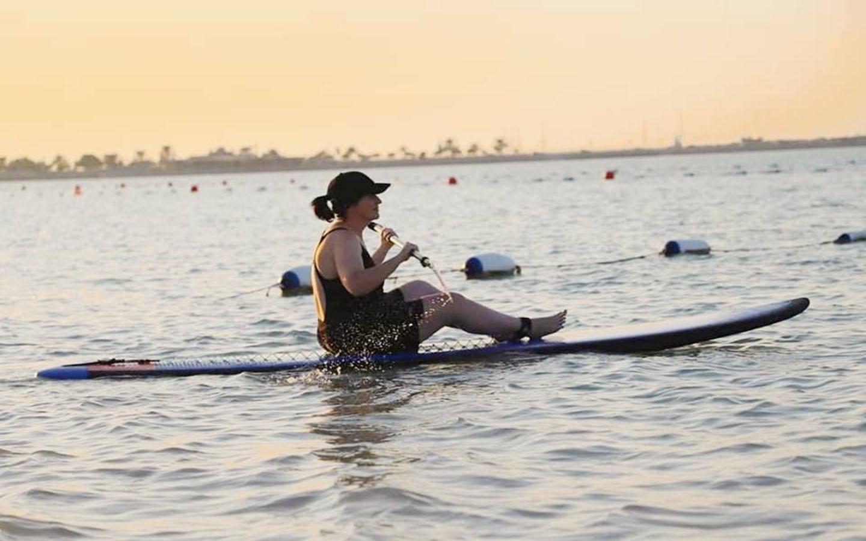 Kayaking at Al Bahar