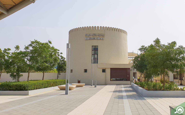 Khalifa Park Library Exterior