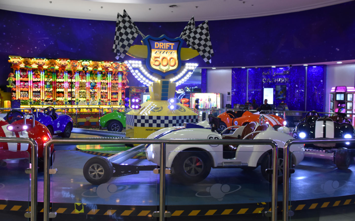 kiddie rides at magic planet dubai