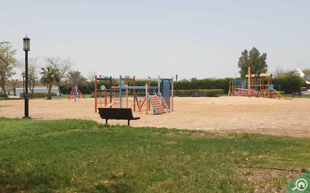Mussafah park play area