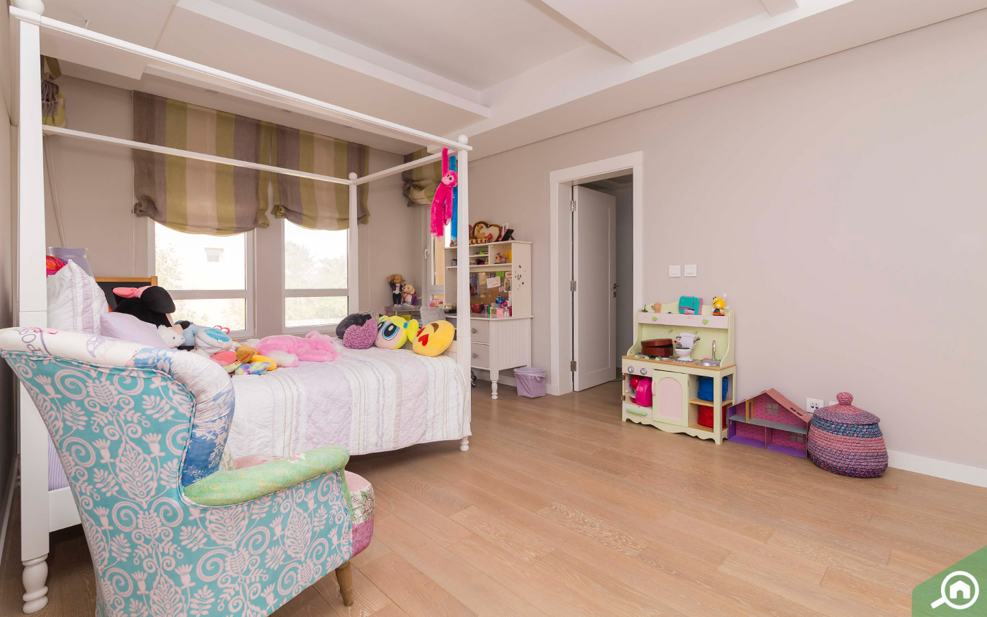 Beautifully designed Kids Room in villa for sale in Arabian Ranches