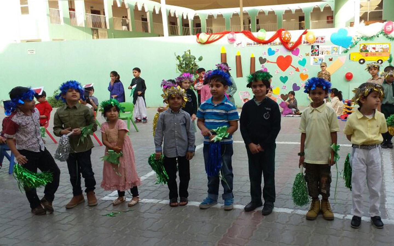 Kindergarten activity at SRAMPS