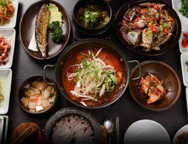 مأكولات كورية