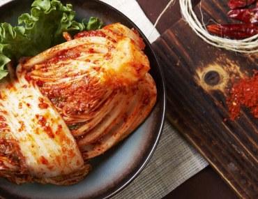 Kimchi, a staple Korean dish