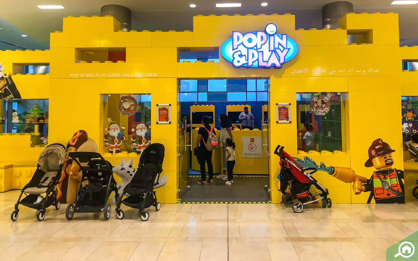 LEGGO POP IN AND PLAY IN YAS MALL