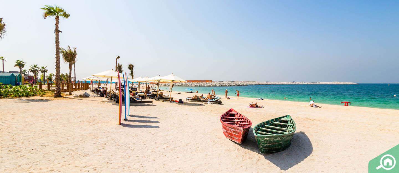 La Mer Beach-Jet Ski in Dubai