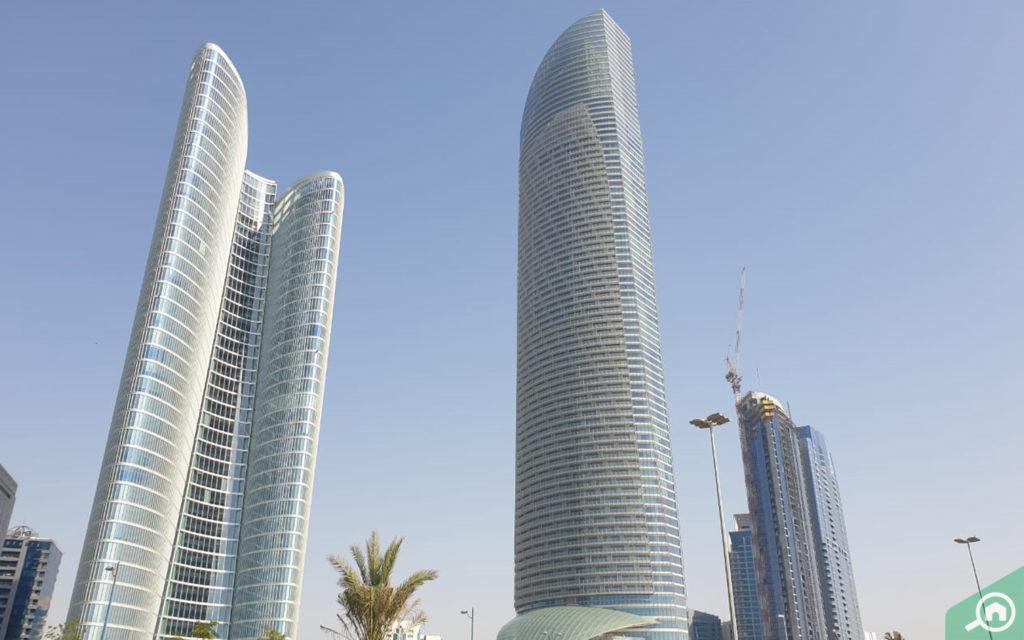 The Landmark tower in Abu Dhabi