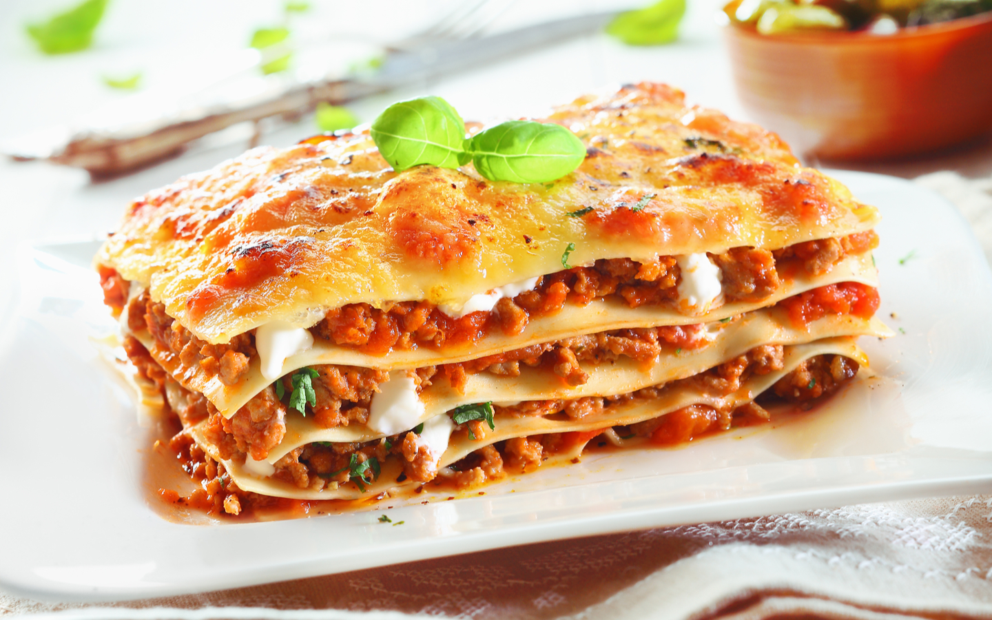 Ravioli and Co offers best lasagna in town