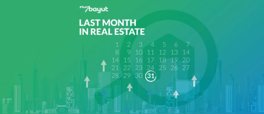 Last Month In Real Estate - August 2021