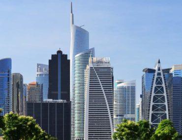 skyscrapers in JLT