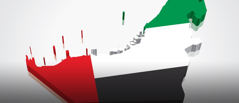 تعر ف على خريطة الامارات ومواقع إماراتها السبع والدول المجاورة