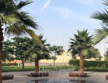 حديقة في مدينة محمد بن زايد