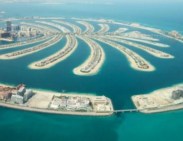 Palm-Shaped Island Dubai