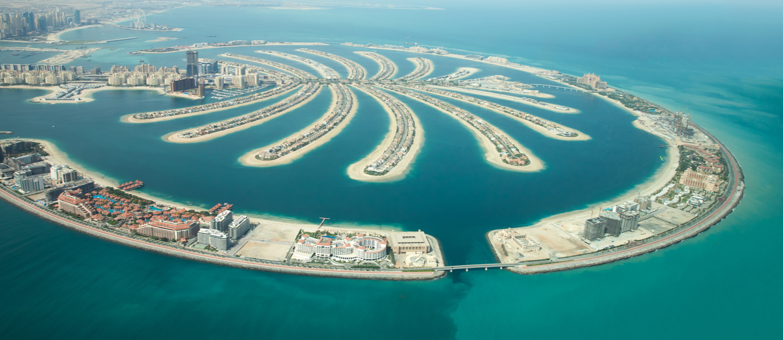 الجزر الاصطناعية في دبي