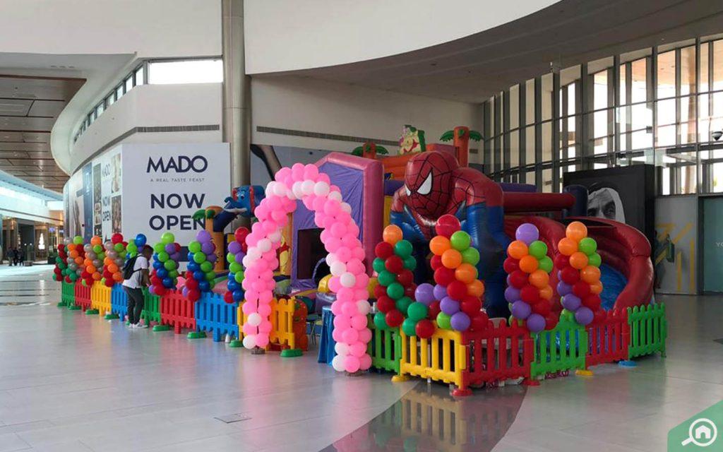 Kids Play area Manar Mall