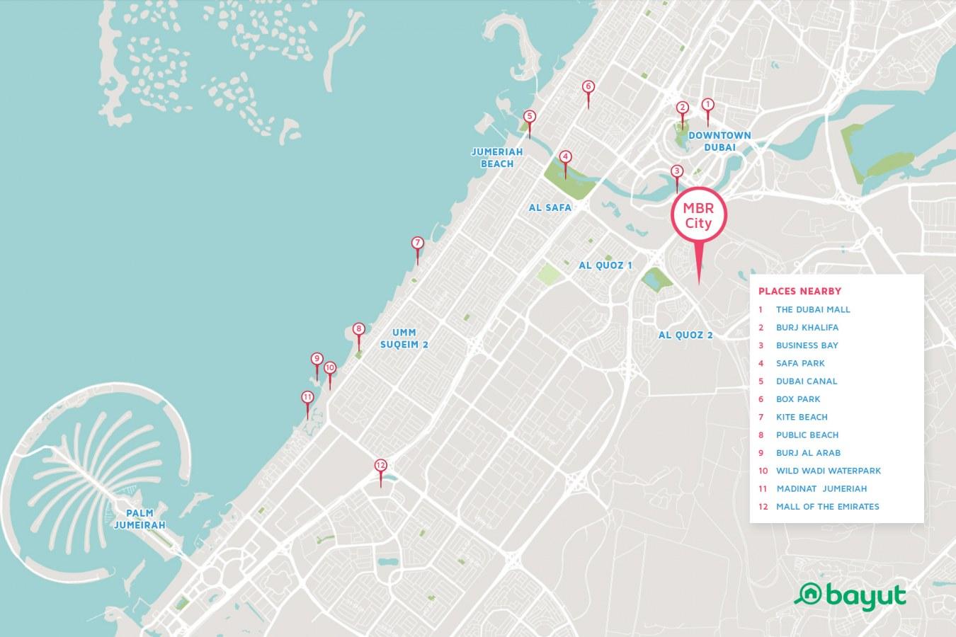 Dubai Maps on