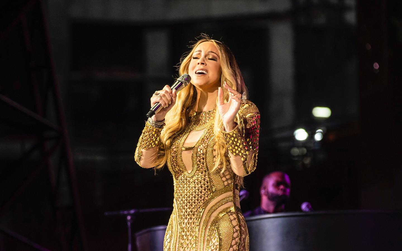 Mariah Carey in Dubai for Expo 2020 countdown