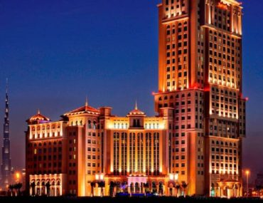 View of one of the Marriot hotels in Dubai