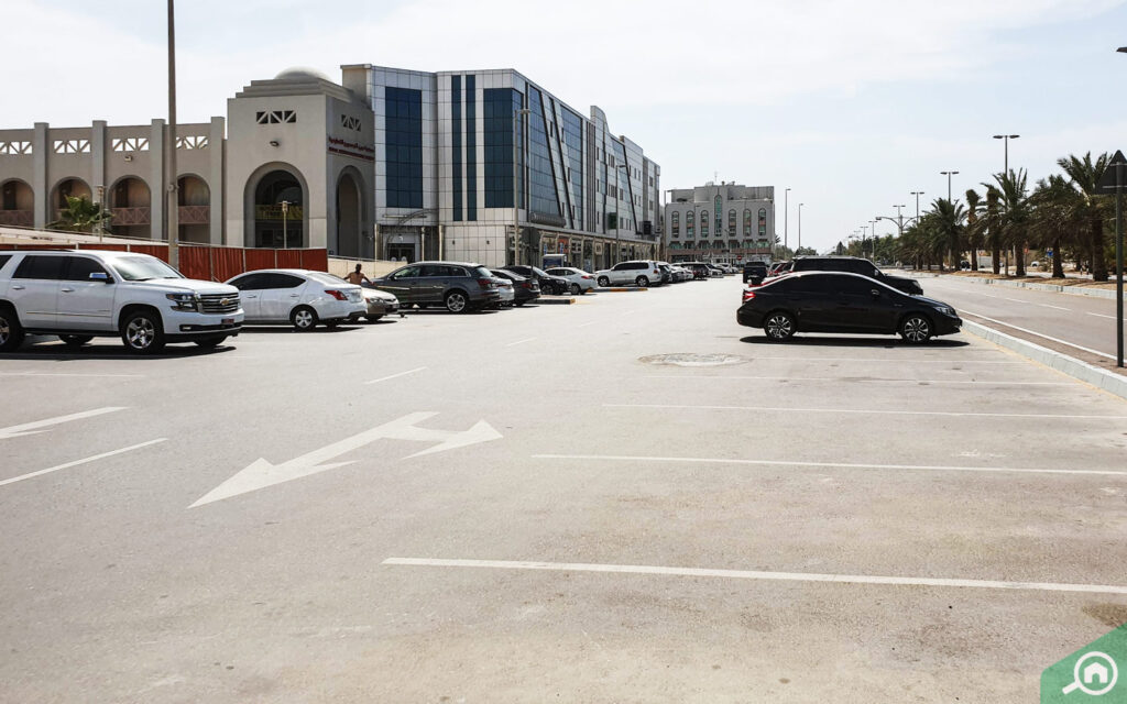 Residential parking space in Abu Dhabi