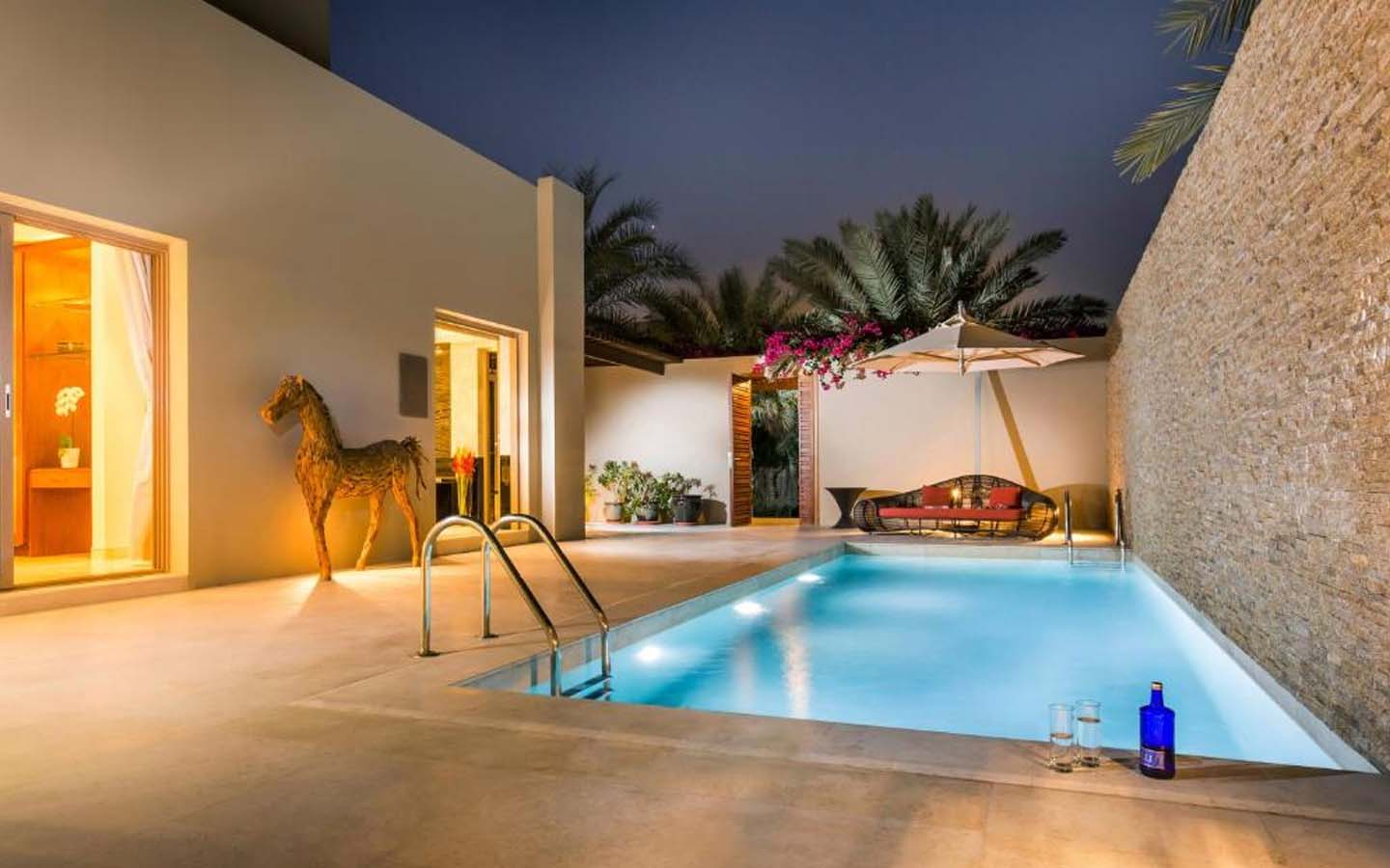 Melia luxury villas with a private pool