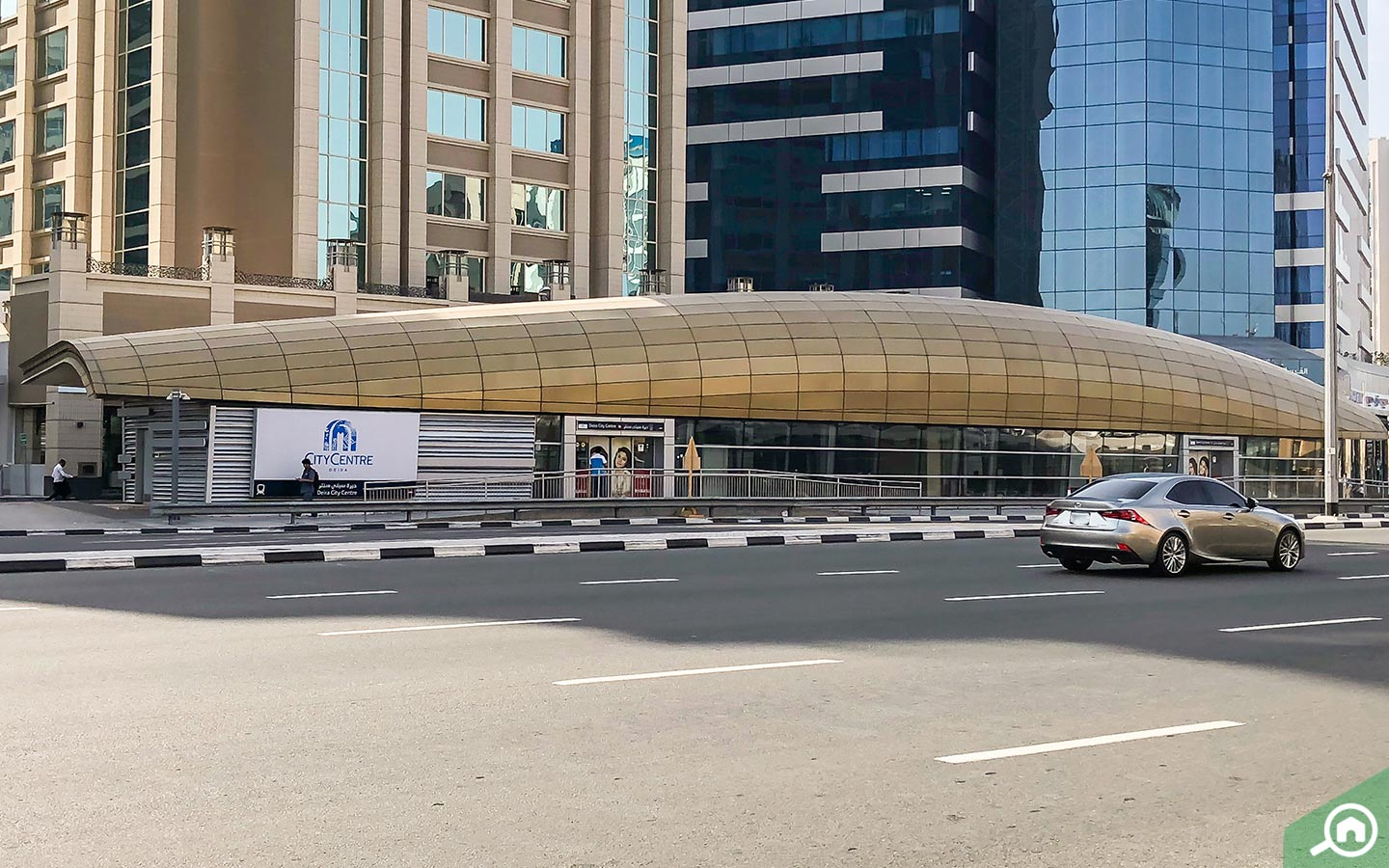 Metro station at Deira City Centre