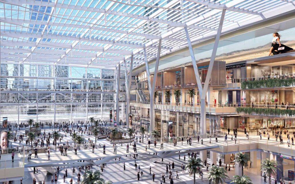 Meydan One Mall Interior