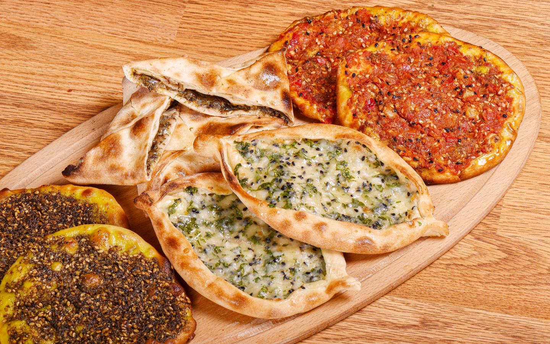 Fatayar, Mankeesh, Zataar breads