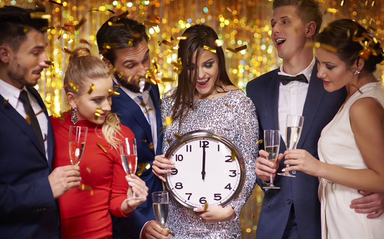 Midnight NYE Parties in Dubai