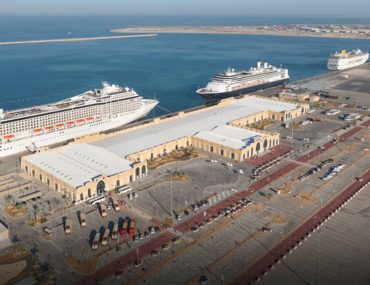Mina Rashid Port Dubai Aerial View