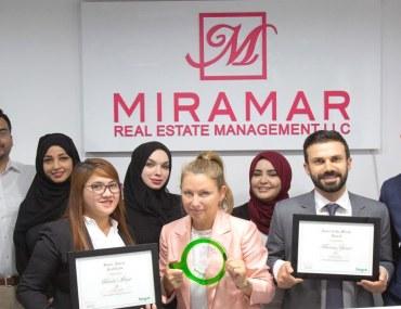Bayut Awards for Miramar, real estate agency in Abu Dhabi