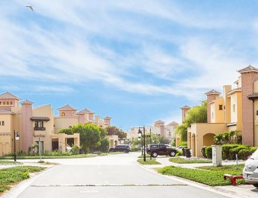 View of for rent villas in Mirdif