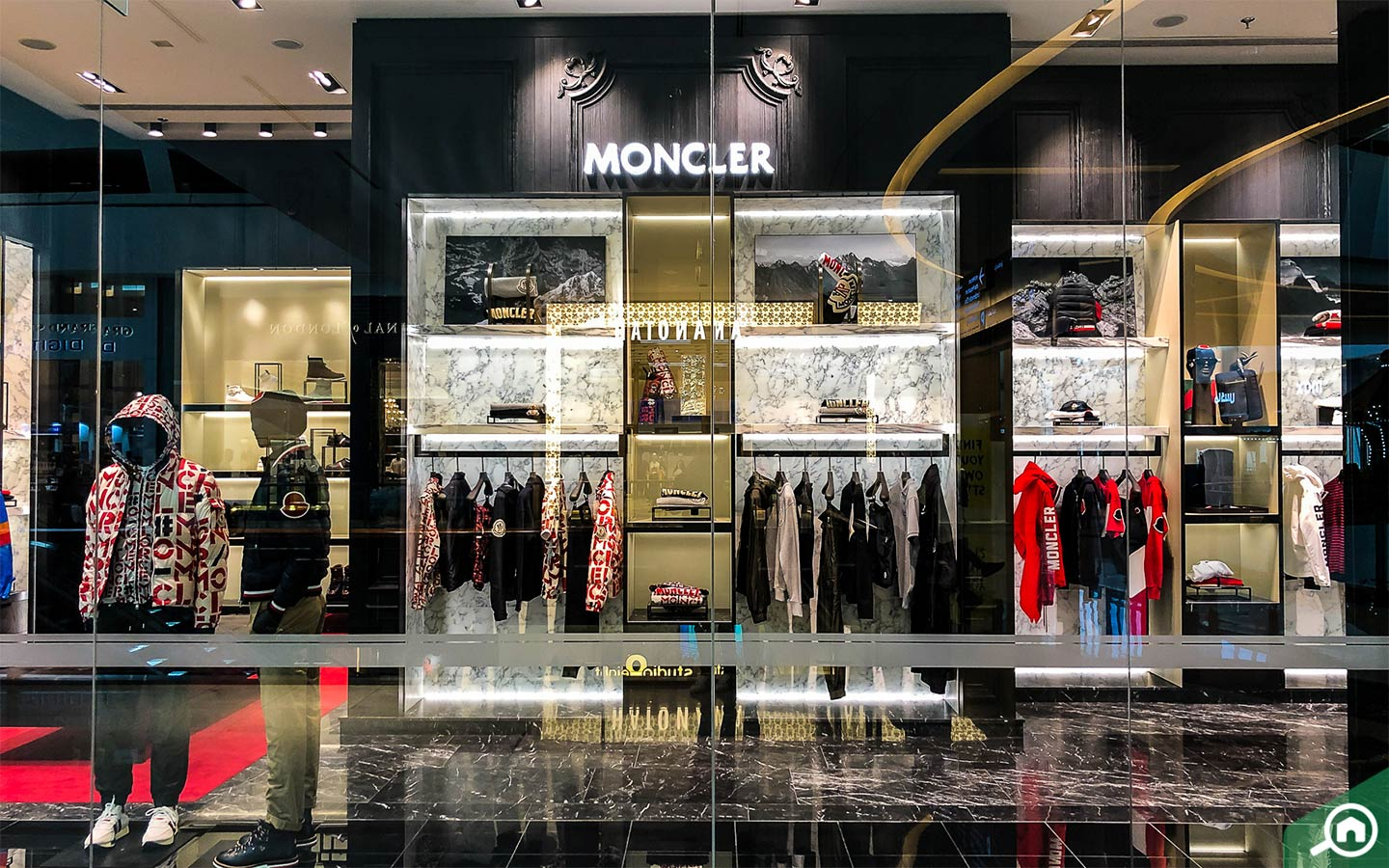 Moncler in The Dubai Mall