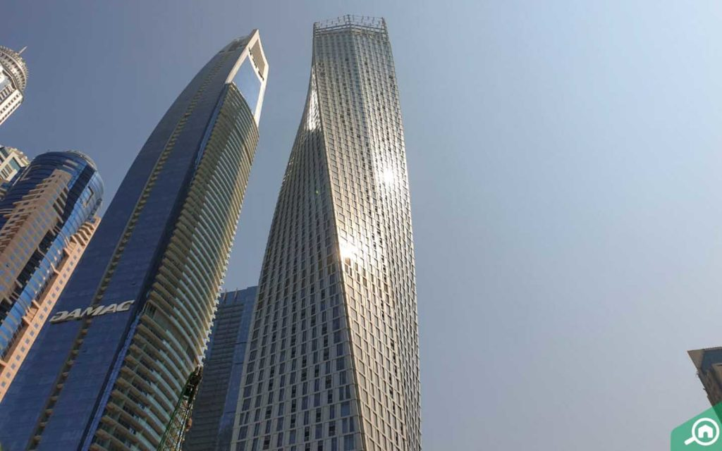Cayan Tower in Dubai