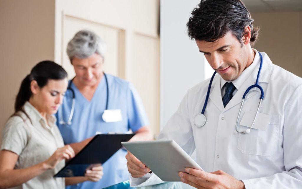 healthcare staff in Dubai