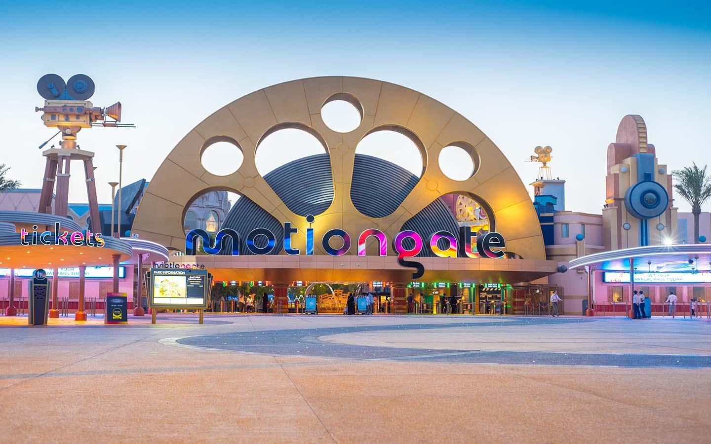 Hollywood theme park