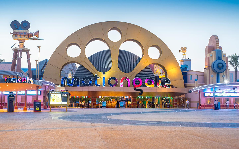 دبي باركس آند ريزورتس اماكن سياحية في دبي شهر العسل