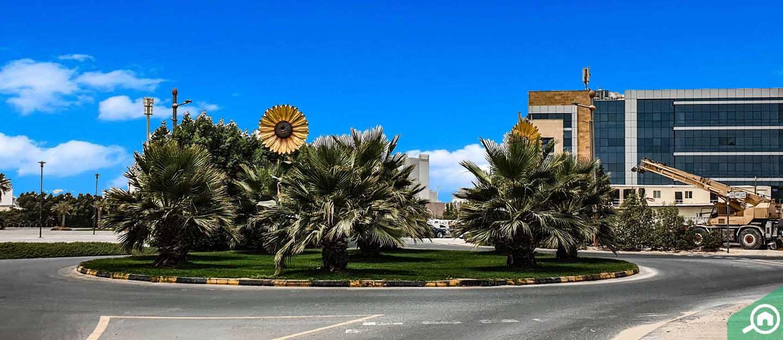 حلبة أوتودروم في منطقة موتور سيتي دبي