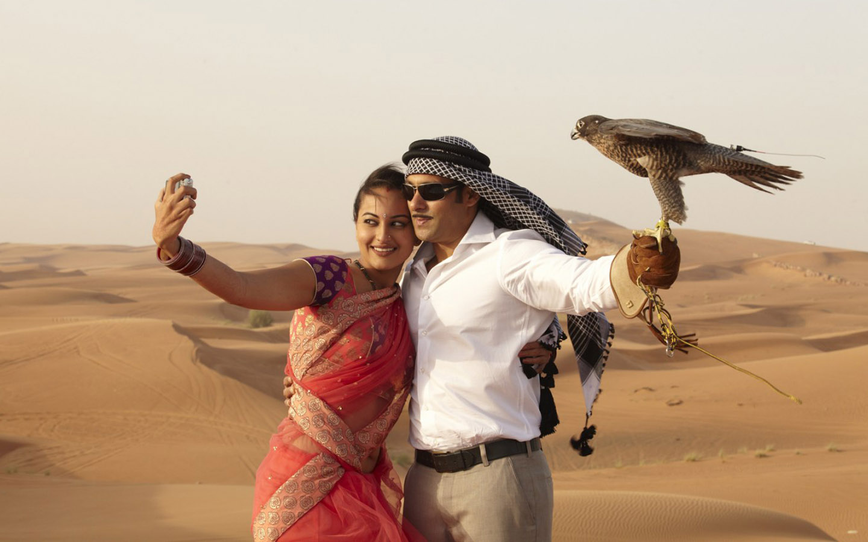 Salman Khan shooting in Dubai for Dabangg