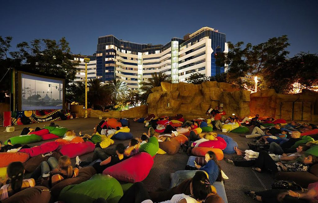 Bayut.com Recommends Movies Under the Stars at Wafi Mall