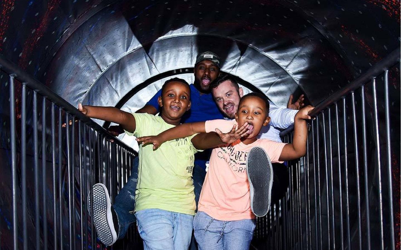 Vortex Tunnel at Museum of Illusions