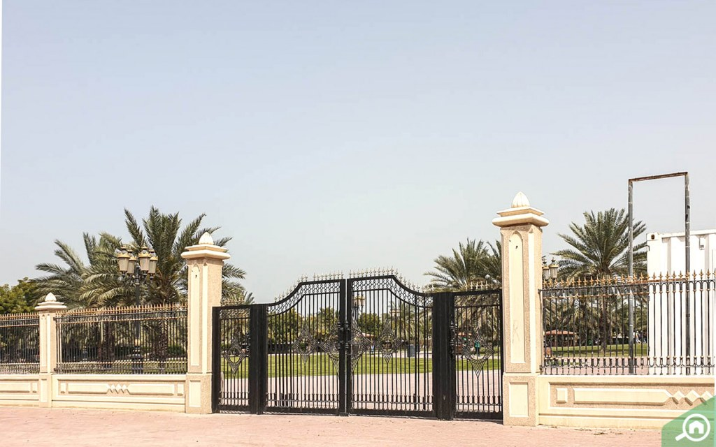 Mushareif is a beautiful parks in Ajman