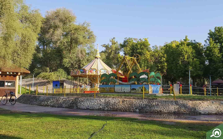Play Area in Mushrif Park in Dubai