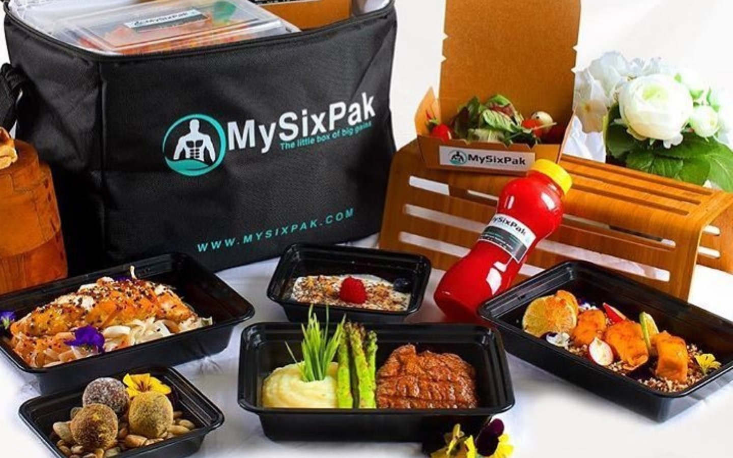 View of healthy food delivery in Dubai from My SixPak