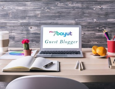 Guest Blogger on Bayut's blog, My Bayut