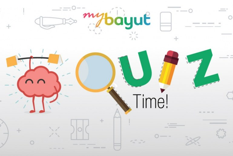 Take a custom made bayut quiz